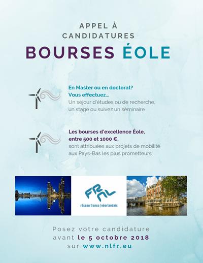 Bourses Eole 2018