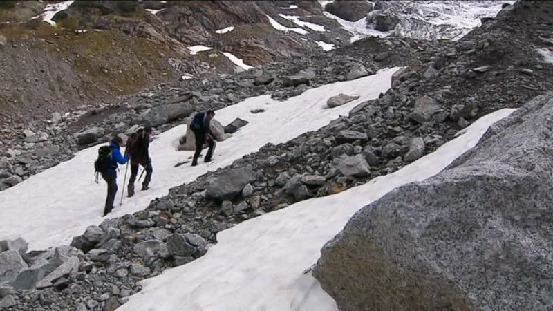 chercheurs dijonnais et glaciers