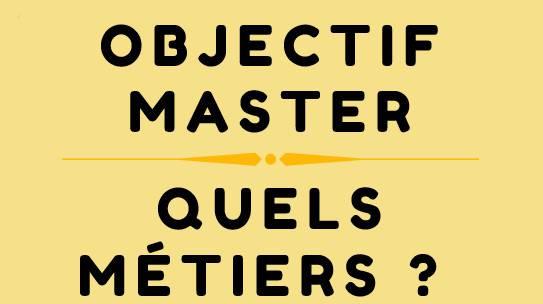 Objectif Master jeudi 14 novembre 2019 à l'UFR SVTE
