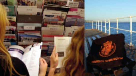 Amphi Mariotte le 14/09/2021 Réunion d'information sur les mobilités internationales étudiantes