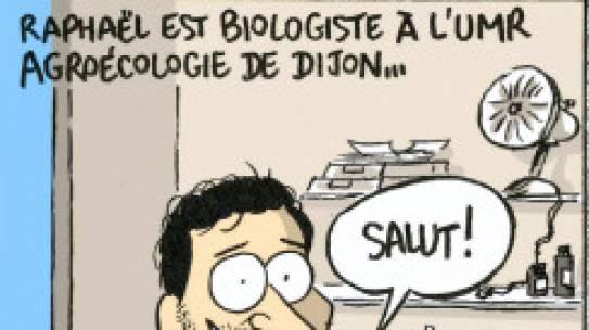 Suivez Raphaël Boussageon, doctorant de l'UMR Agroécologie, dans sa thèse CIFRE. Réalisation Thibaut Roy