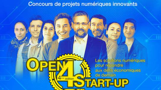 Concours de projets numériques innovants : participez à l'Open 4 Start-up
